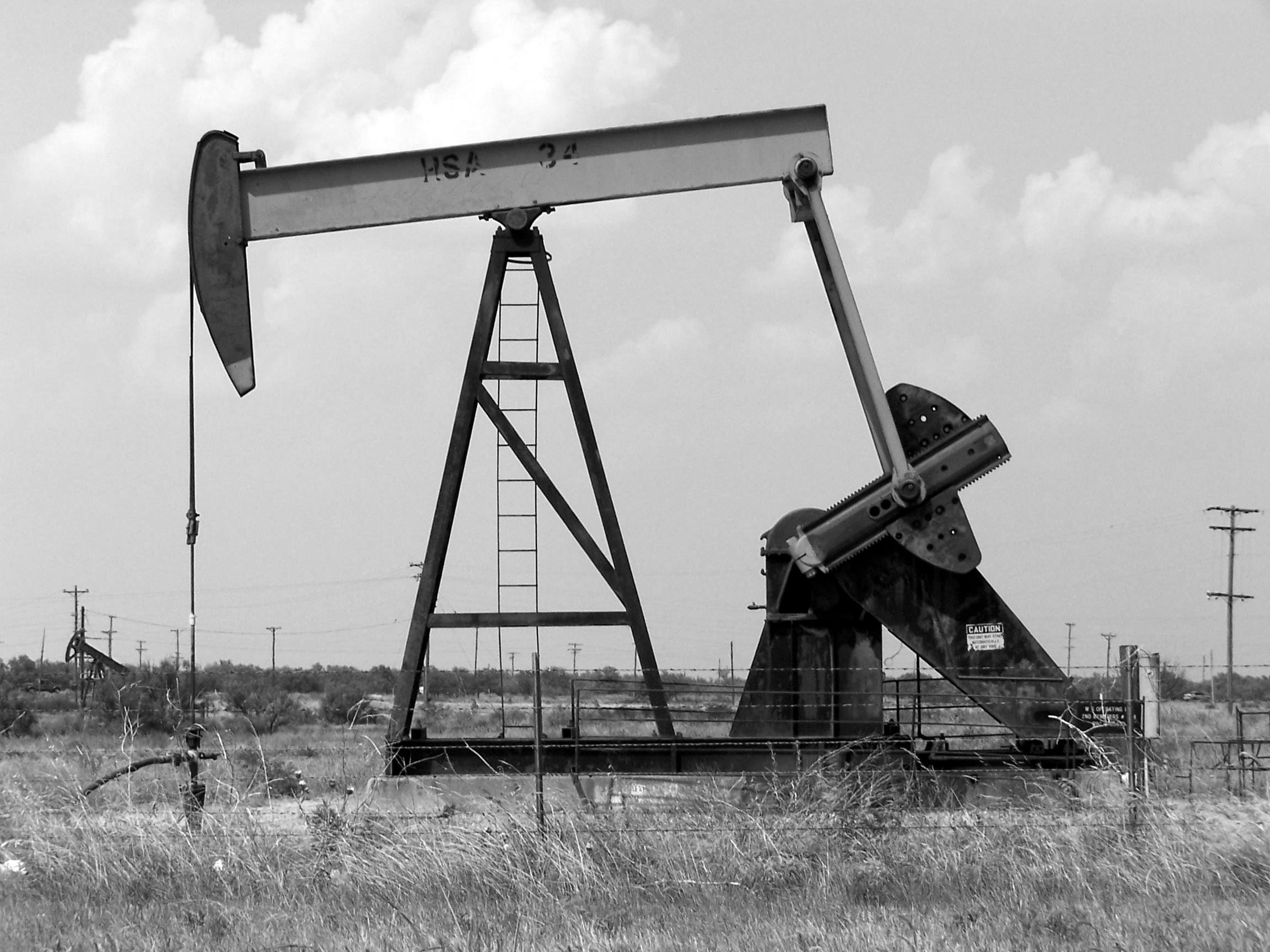 définir l'énergie, forage pétrolier